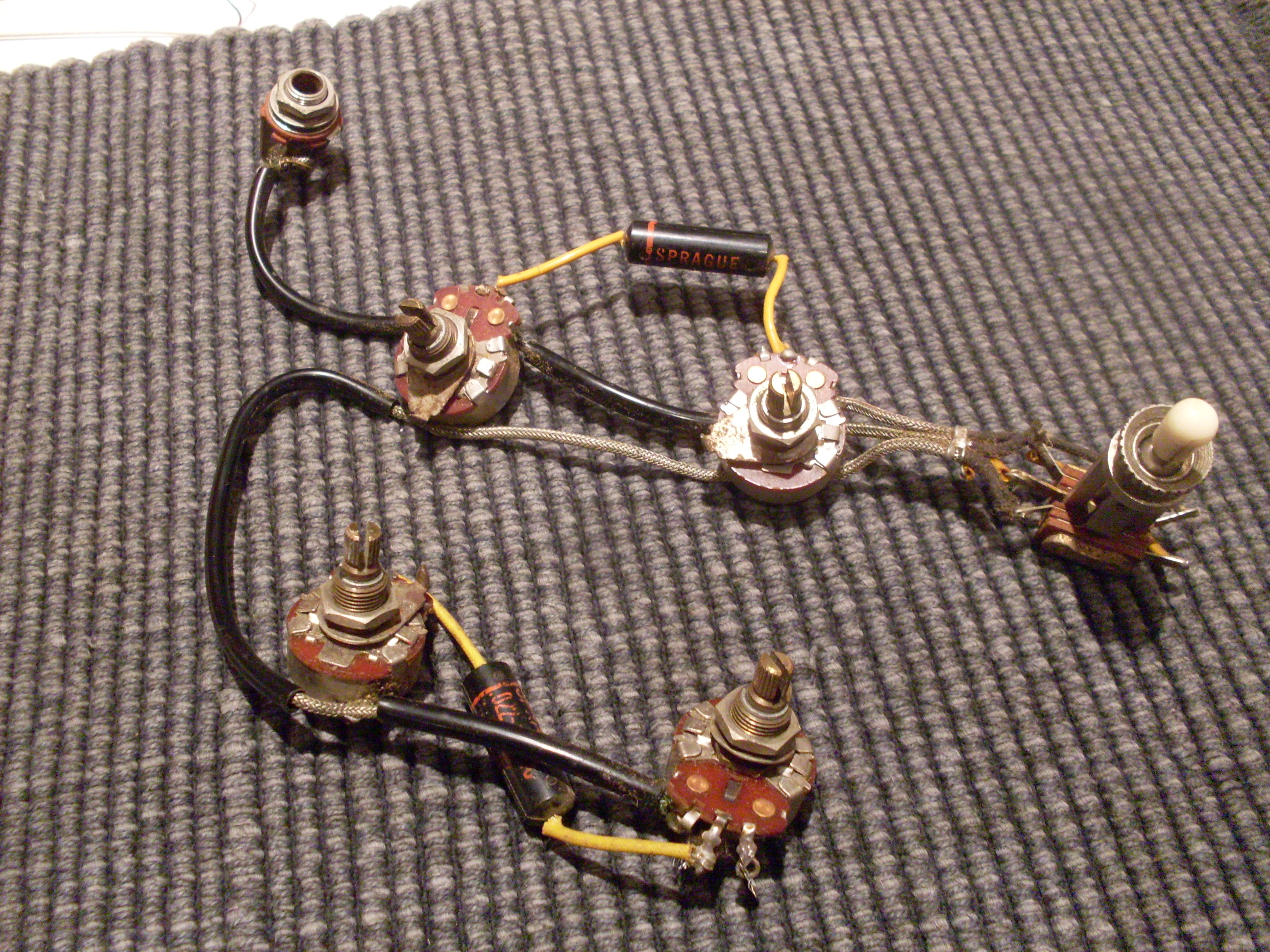 Es 335 Wiring Harness Gibson Diagram Image Kit 345 The Part 7 On
