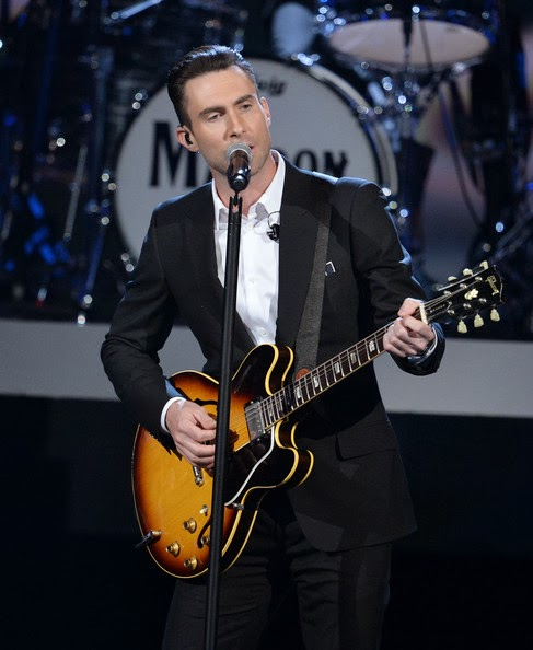 Adam Levine on a 63 or 64 335.