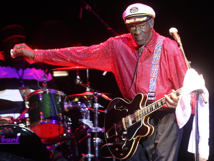 Still touring at 87, Chuck Berry should serve as an inspiration to all of us old players. You're never too old to rock and roll (but you can be too old to duck walk)