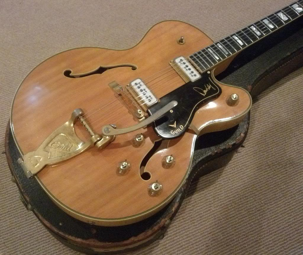 This 63 Guild Duane Eddy cost less than $4000. Perhaps the younger generations are discovering this (and we aren't)